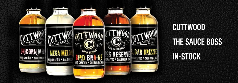 Cuttwood The Sauce Boss E-Liquid and E-Juice