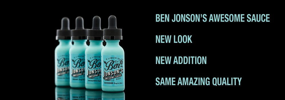 Ben Jonson's Awesome Sauce E-Liquid